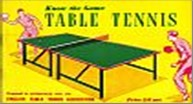 Bib No. 111 – KNOW THE GAME – TABLE TENNIS