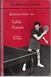 Bib No. 119 – INSTRUCTIONS IN TABLE TENNIS
