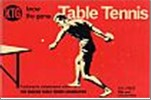 Bib No. 134 – KNOW THE GAME – TABLE TENNIS