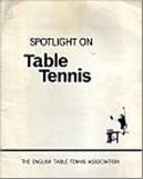 Bib No. 140 – SPOTLIGHT ON TABLE TENNIS