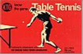 Bib No. 166 – KNOW THE GAME – TABLE TENNIS