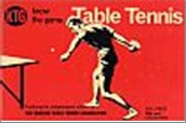 Bib No. 179 – KNOW THE GAME – TABLE TENNIS