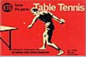 Bib No. 184 – KNOW THE GAME – TABLE TENNIS