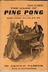 Bib No. 20 – PING PONG, THE GAME AND HOW TO PLAY IT