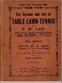 Bib No. 24 – THE SCIENCE AND ART OF TABLE LAWN TENNIS