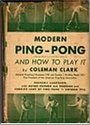 Bib No. 34 – MODERN PING PONG AND HOW TO PLAY IT